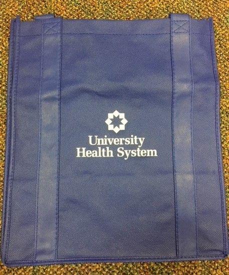 University Health System - Blue Bag | Bags | Bags, Blue bags