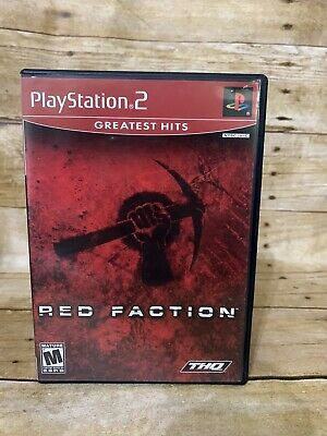 Red Faction (Sony PlayStation 2, 2002) PS2 Greatest Hits Complete    eBay