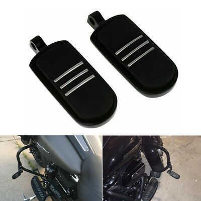 Sponsored Ebay Black Rubber Foot Pegs Motorcycle Footpegs Footrest Set Fits For Harley Davidson In 2020 Motorcycle Parts And Accessories Foot Rest