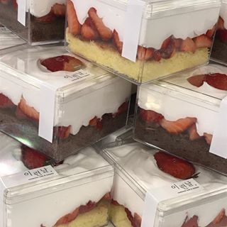 pin by heera choi on food cafe food dessert packaging desserts pinterest