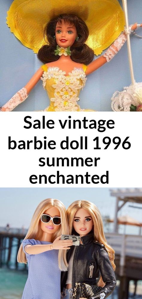 Sale vintage barbie doll 1996 summer enchanted seasons rare | etsy