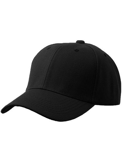 Baseball Cap Outfit, Plain Baseball Caps, Plain Caps, Black Baseball Cap, Baseball Hats, Black Cap Outfit, Choice Clothes, Outfits With Hats, Cap Outfits