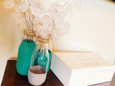 Milk Bottle Decorations Mesmerizing 29 Diy Glass Milk Bottle Crafts Ideas 2018