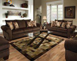 Godiva Chocolate Brown Sofa and Loveseat Set My American Freight