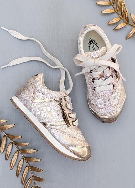 Stylish tennis shoes