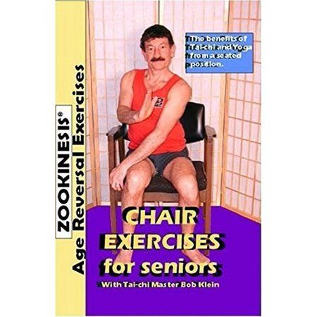 Zookinesis Age Reversal Exercises Chair Exercises For Seniors Dvd Walmart Com In 2020 Senior Fitness Chair Exercises Exercise