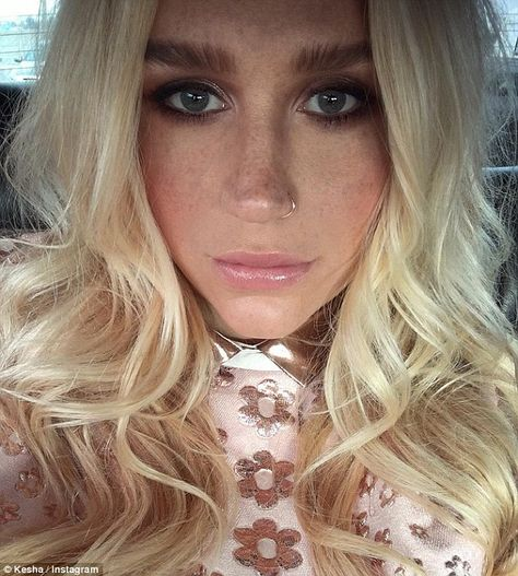 Kesha channels the 1960s in babydoll pink dress and platform shoes | Kesha  hair, Pink dress, Hair styles