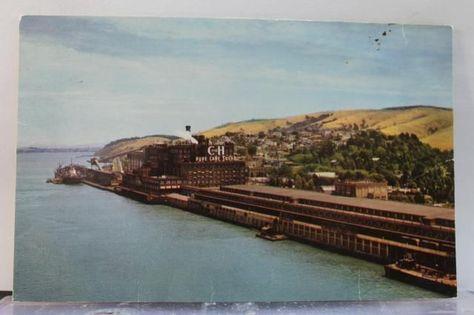 California CA Crockett Sugar Refinery Postcard Old Vintage Card View Standard PC