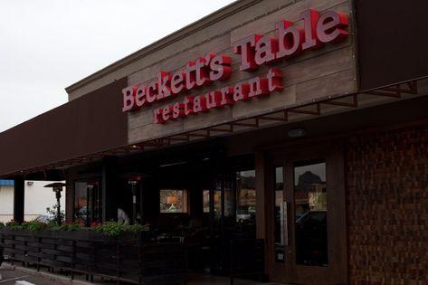 Beckett's Table