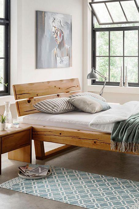 Premium Collection By Home Affaire Bett Ultima Aus Massivem Holz