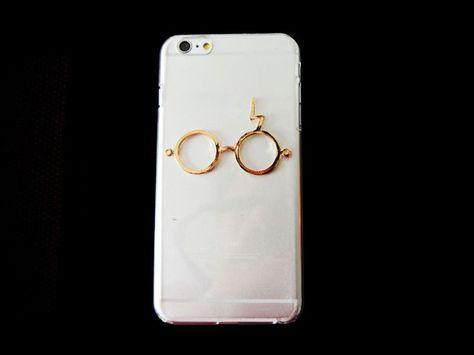 new harry potter design glasses iphone 4 5 5C iphone 6 6 plus 3D clear case
