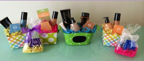 Cute Scentsy gift baskets