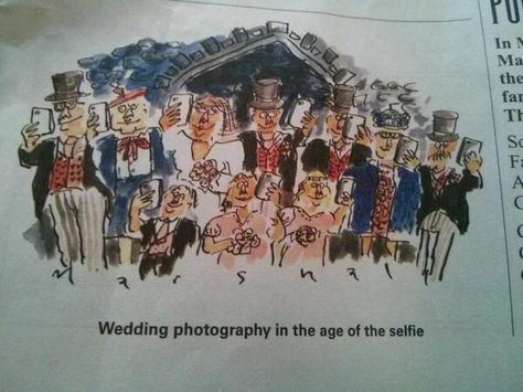 wedding photography in the age of the selfie
