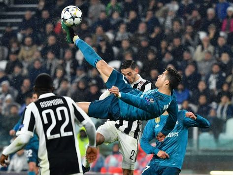 Image result for real madrid juventus chilena