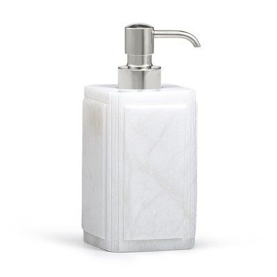 Ribbed Metal Dispenser Bath Accessories Dispenser Metal