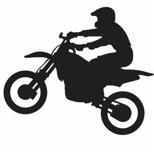 Yamaha Bike Riding Vector Ready To Print Instant Download Files Eps Ai Cdr Pdf Png Bike Silhouette Bike Drawing Dirt Bike Tattoo