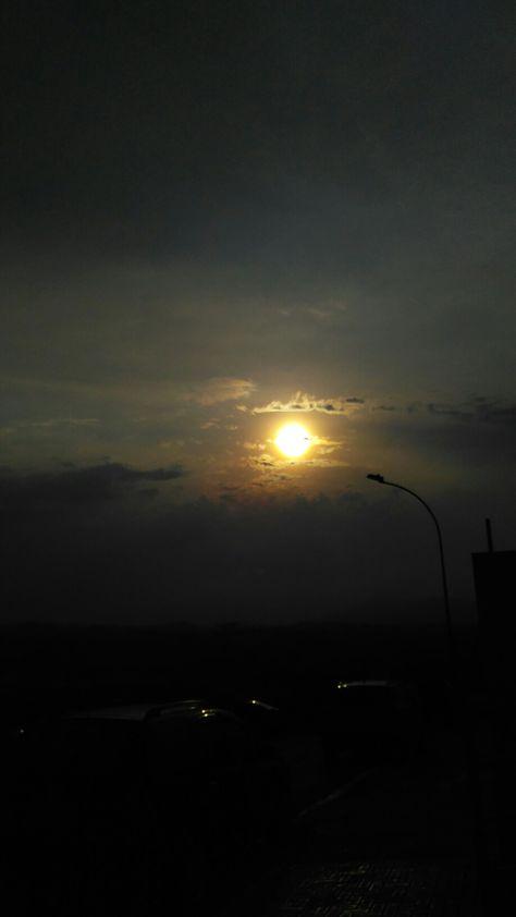 Por do sol #pordosol #santanadeparnaiba #saopaulo #brasil #trip #turismo #malcardoso #sunset