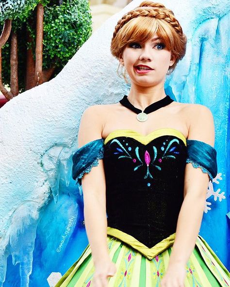 It would be my dream job to play her at Disney World.