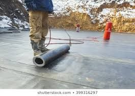 Waterproofing Is The Process Of Making An Object Or Structure Waterproof Or Water Resistant So That It Rema In 2020 Spray Foam Insulation Roof Waterproofing Spray Foam