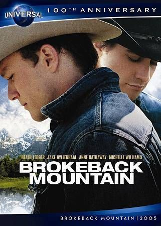 Details About Brokeback Mountain Dvd 2005 Universal 100th