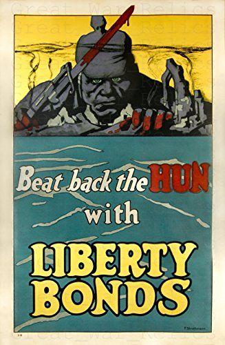 Ww1 Anti German Propaganda Poster 11 7 X 16 5 Liberty Https Www Amazon Com Dp B077v2cj2c Ref Cm Vintage Posters Vintage Poster Art Posters Art Prints