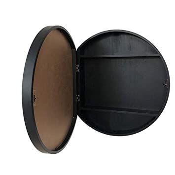 34+ Round bathroom mirror cabinet type