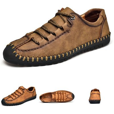 Fashion Mens Leather Tassel Loafers Slip On Casual Leisure Mocassin Shoes New