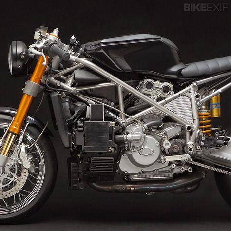 Ducati 999S close-up