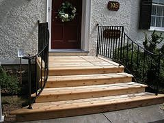 patio steps design ideas front steps andrew henwood for the home pinterest patio steps front steps and stair handrail - Front Steps Design Ideas