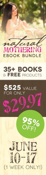 Ever wish motherhood came with a manual? We're here to help! Get more than $575 worth of books and resources for only $29.97 - a 95% discount! June 10-17 only.