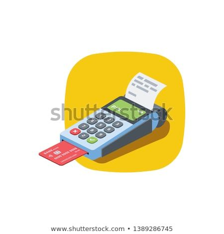 Cashbox Isometric Illustrate Icon 3d Vector Design Color Flat
