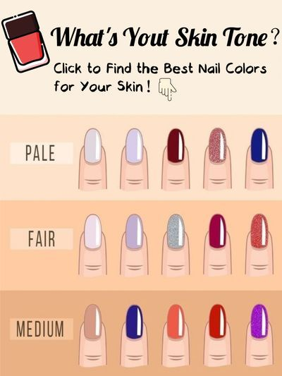 Best Nail Colors For Pale Skin : colors, Beauty, Without, Barriers, Colors, Skin,, Colors,, Color