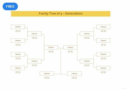 Sample Family Tree Template Free Pdf Excel Word Apple Numbers Apple Pages Template Net Family Tree Family Tree Template Tree Templates