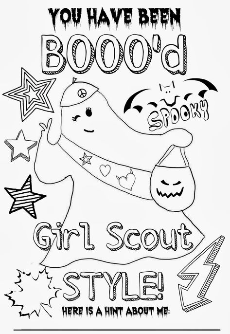 Muraco Girl Scout Troop You have been BOOO'd Arrange for girls to do to earn Violet petal Be a Sister to Every Girl Scout or Yellow Daisy petal Friendly and Helpful Scout Mom, Girl Scout Swap, Daisy Girl Scouts, Girl Scout Leader, Girl Scout Troop, Girl Scout Cadette, Girl Scout Daisies, Girl Scout Daisy Activities, Girl Scout Crafts