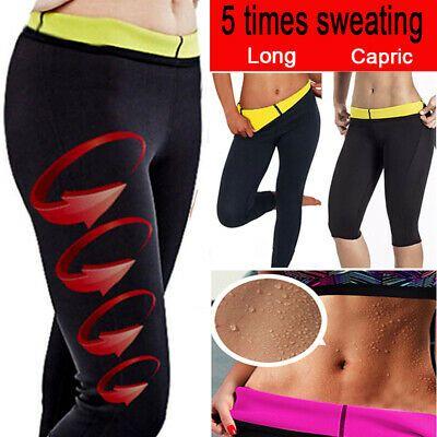 Neoprene Body Pants Women Hot Shaper Shapers Waist Yoga Sweat Slim