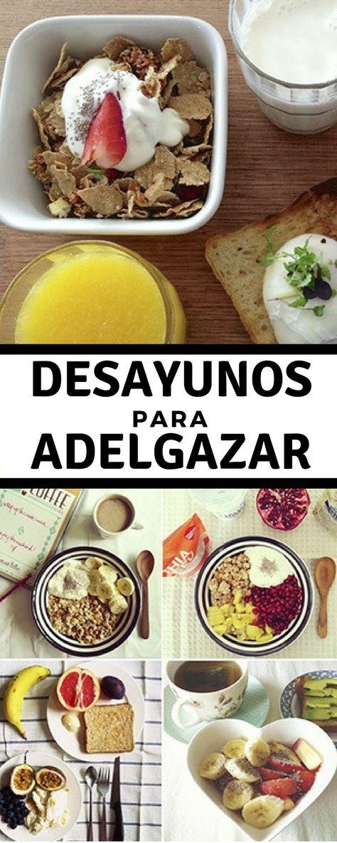 Desayunos saludables y nutritivos para bajar de peso