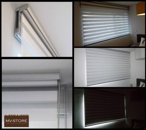 Screen intérieur - Toile translucide - MV-STORE Idées pour la - store enrouleur screen interieur