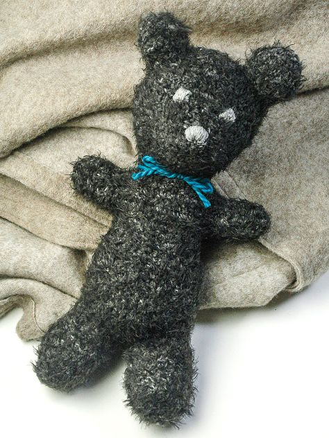 Everyone's favorite bear is now available in crochet!