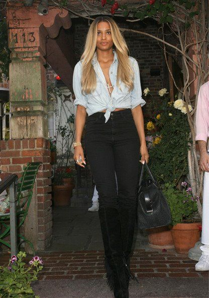 05a3f3e504cb Ciara Look de star Boyfriend La chanteuse de R n b est une icône du  streetwear et ça lui va si bien !
