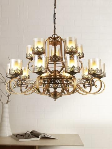 Bold N Beautiful Wrought Iron Chandelier Cultivating Lighting