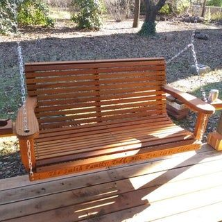 Diy Porch Swing Free Templates With Images Porch Swing Diy
