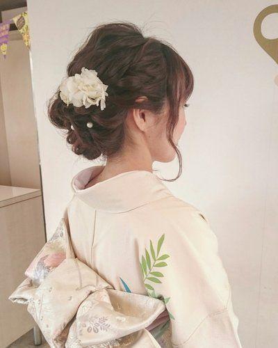お呼ばれ結婚式に 和装に合わせたいヘアスタイルまとめ 結婚式 和装