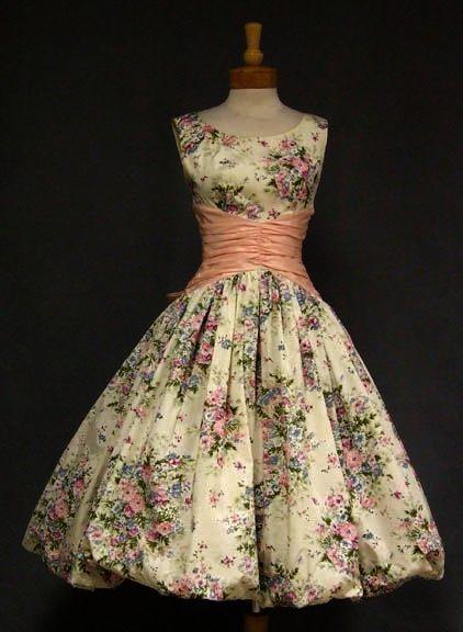 Brilliant 50s Style Dress Patterns Uk Pin Vintage Dresses Vintage 1950s Dresses 1950s Cocktail Dress
