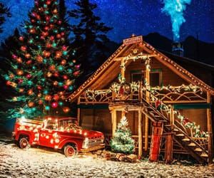 Christmas Tree Lighting In Tupper Lake Ny 2020 Image about aesthetic in • New York City 🗽 • by ✦𝓛𝓾𝓬𝓲𝓮 in