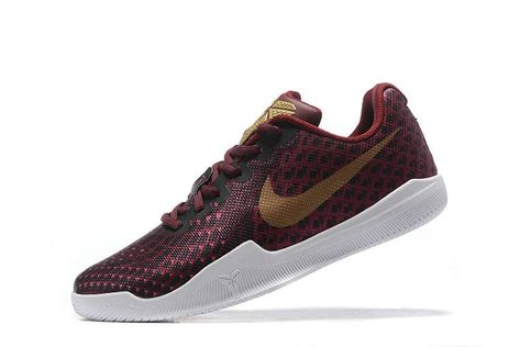 detailed look 94bfb dfce0 Cheap Nike Kobe 12 Wine Red Gold