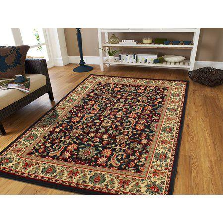 Black Area Rugs Under $50 5x7 Area Rugs Tabriz Rugs , 5x8