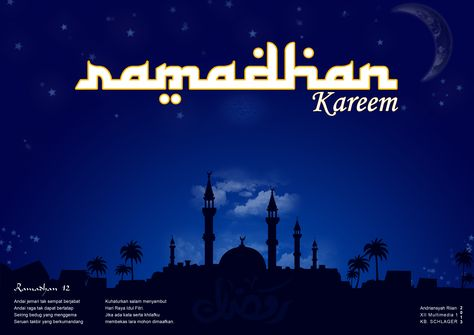 Desain Poster Ramadhan Dengan Gambar Poster Desain Poster Desain