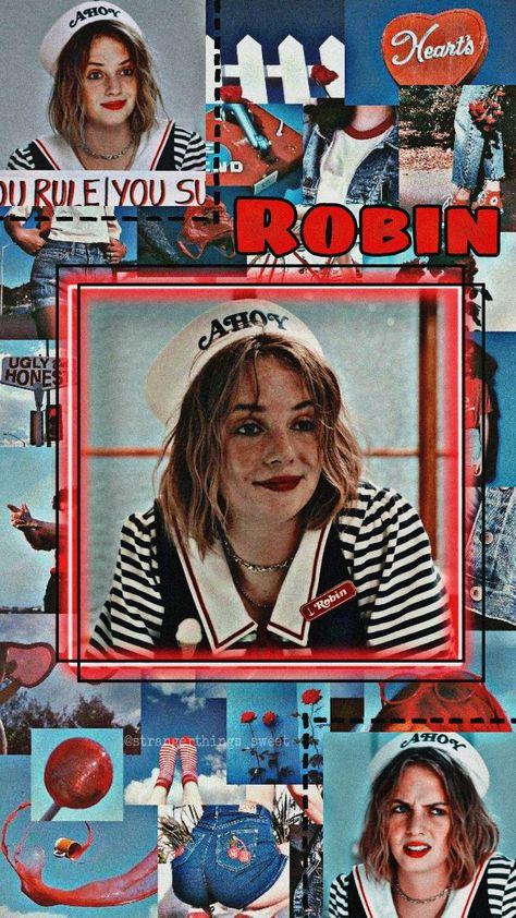 Wallpaper Robin Stranger Things