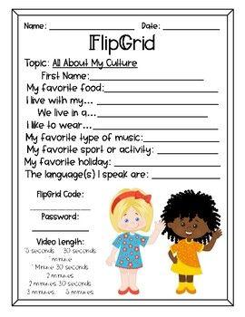 Flipgrid Video Templates For Students Rubric By Fair Winds Teaching Teachers Pay Teachers Rubrics Student Teaching Teachers