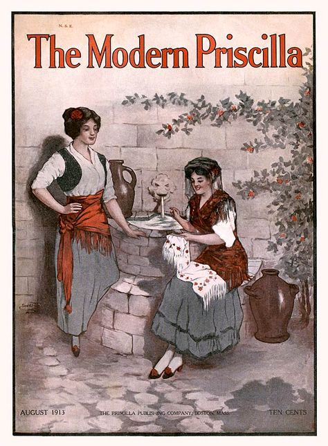 Nikolaki Z.P. - The Modern Priscilla, Magazine Cover, 1916